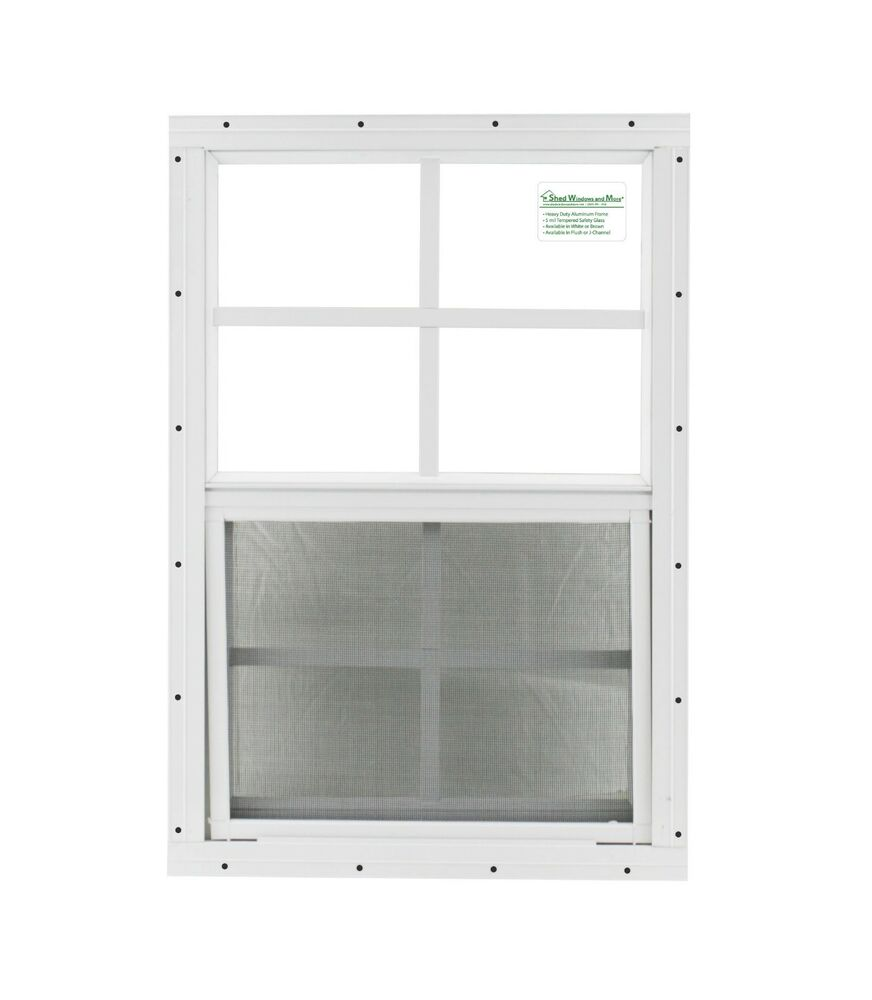 chicken coop windows 14x21 white flush cp1421wf shed