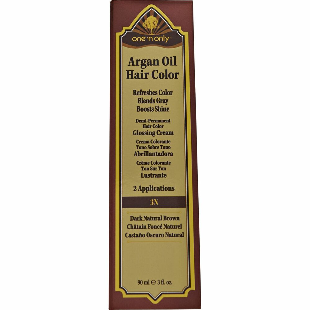 Argan Oil Hair Color One N Only Instructions