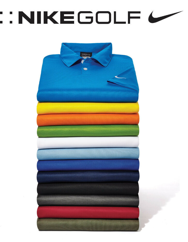 New men 39 s nike golf polo sport shirt pga rory mcilroy xs for Mens xs golf shirts