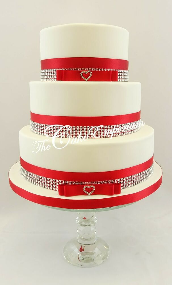 Diamante Ribbon For Cake Decorating