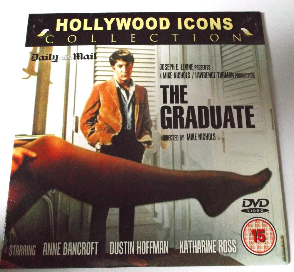 THE GRADUATE DUSTIN HOFFMAN DAILY MAIL PROMO DVD(FREE UK