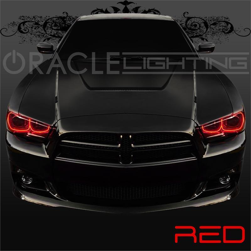 Dodge Charger Color Changing Headlights