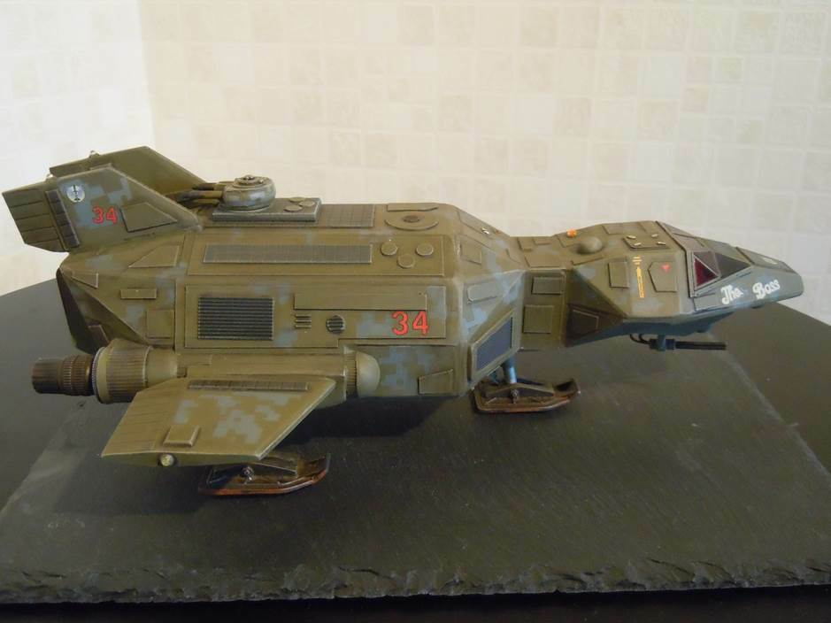 Dragonfly drop ship 15mm 25mm and 28mm scale. Daemonscape ...
