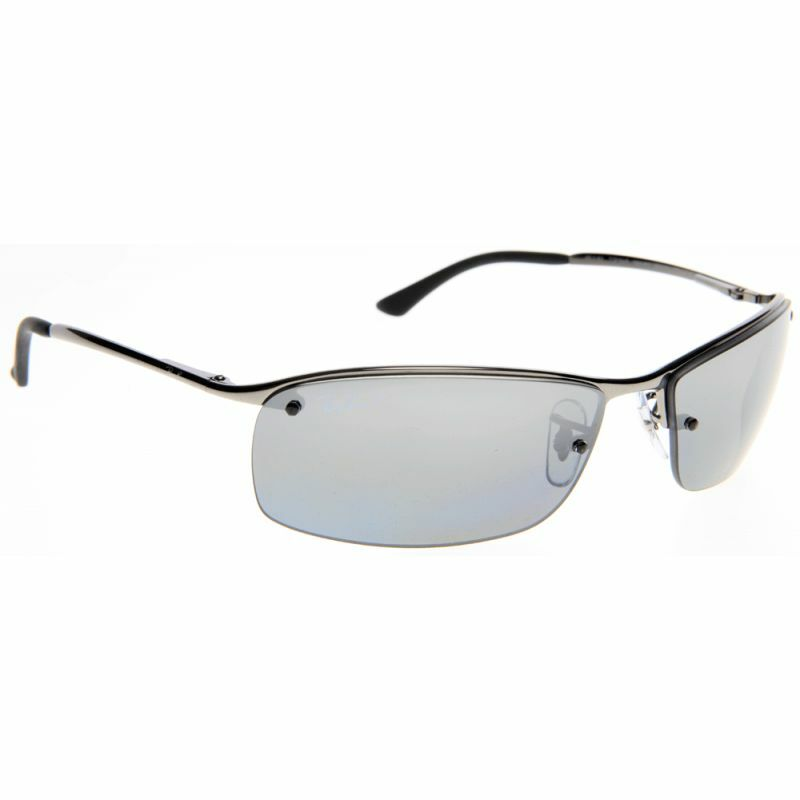 POLARIZED New RAY-BAN Top Bar Active Lifestyle Sunglasses ...