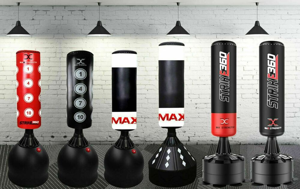 Free Standing Boxing Punch Bag Stand Kick Heavy Mma