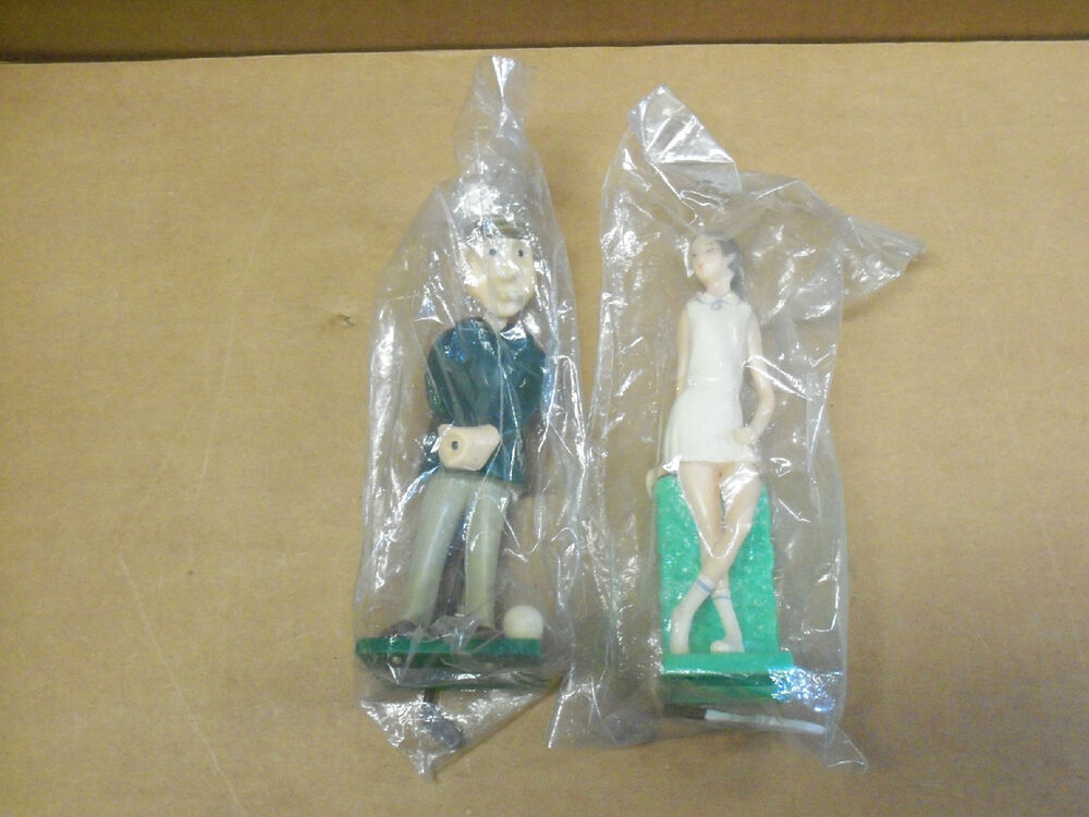 Cake Decorating Figures : Wilton, Large, Cake Decorating Figures (2), Golfer ...