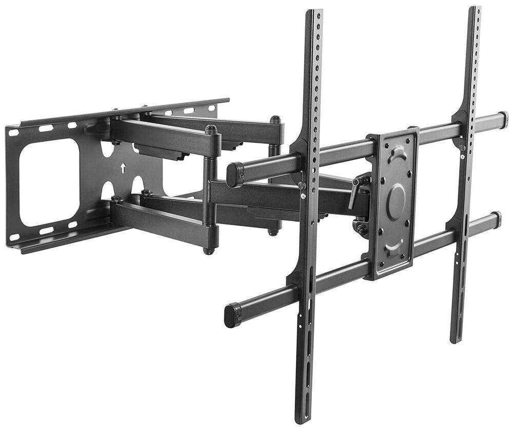 full motion tv wall mount tilt swivel 42 50 56 60 80 inch led lcd flat screen ebay. Black Bedroom Furniture Sets. Home Design Ideas