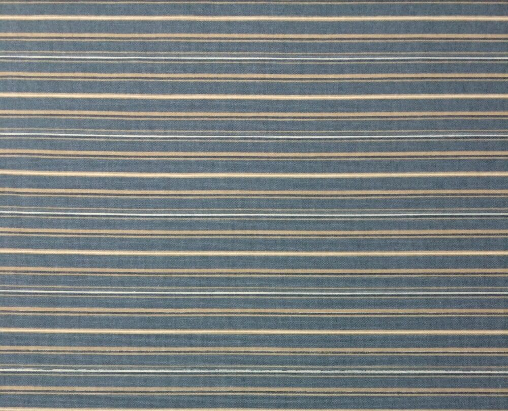 richloom stripe blue white beige railroaded upholstery fabric by the yard 54 w ebay. Black Bedroom Furniture Sets. Home Design Ideas
