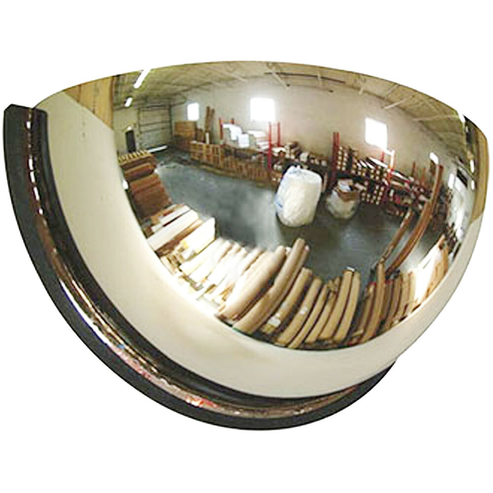 80cm ceiling wall half mirror dome hemisphere panoramic for Mirror 60cm x 80cm