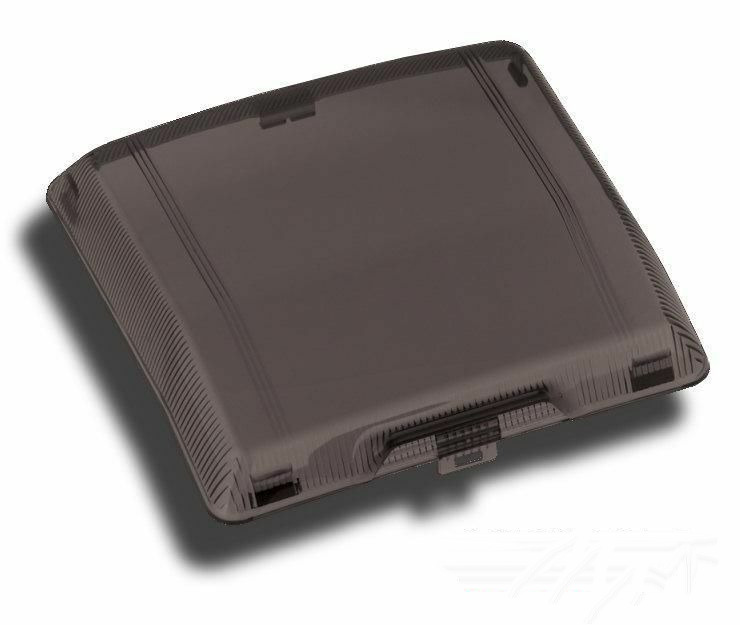 smoke radio cover panel for honda goldwing gl1500 1500