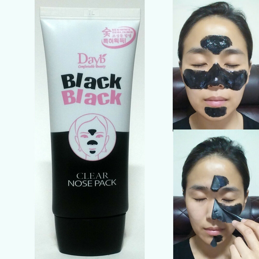 All Natural Charcoal Blackhead Mask Made With 2: CHARCOAL NOSE STRIPS PEEL OFF MASK PACK BLACKHEAD PORE