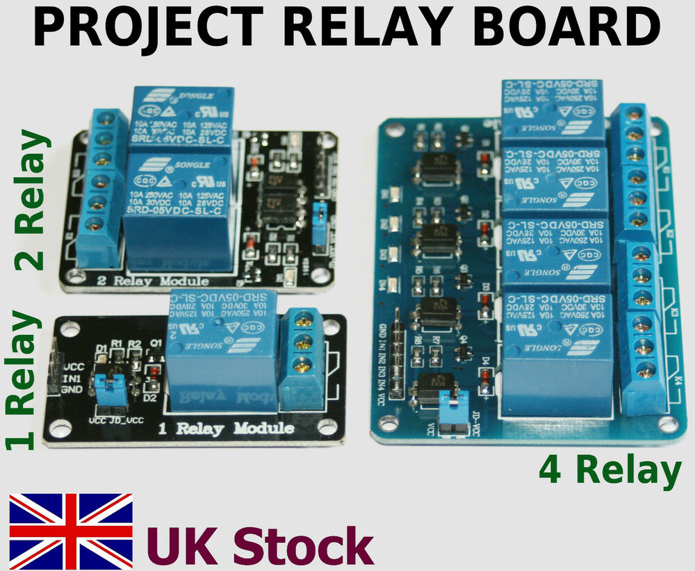 Project v relay board module boards arduino