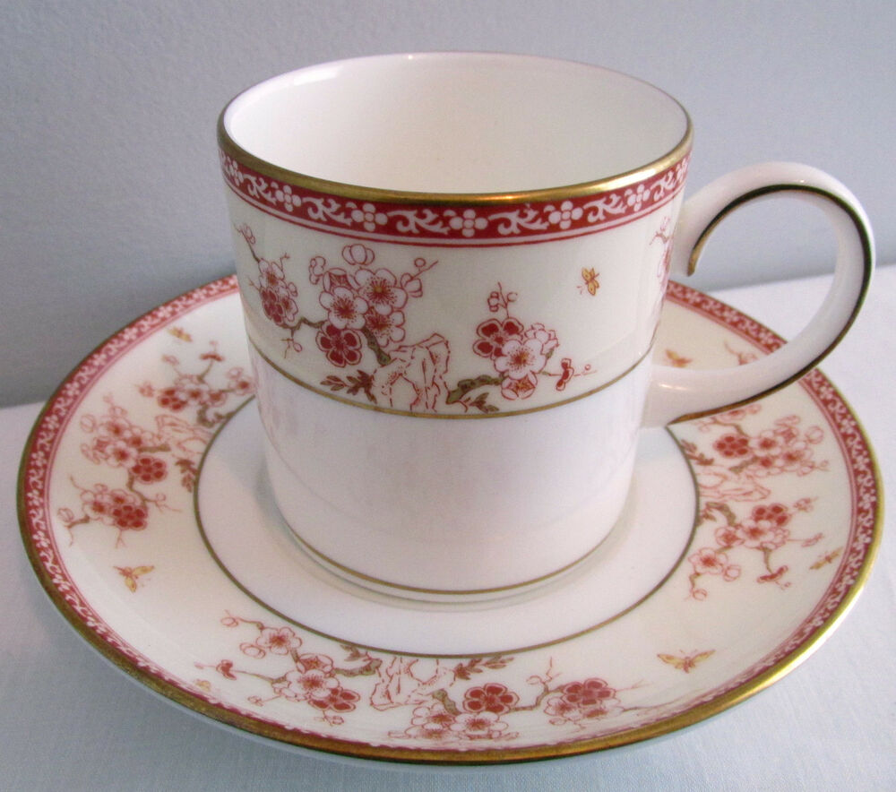 wedgwood china pattern malabar demitasse cup and saucer ebay. Black Bedroom Furniture Sets. Home Design Ideas