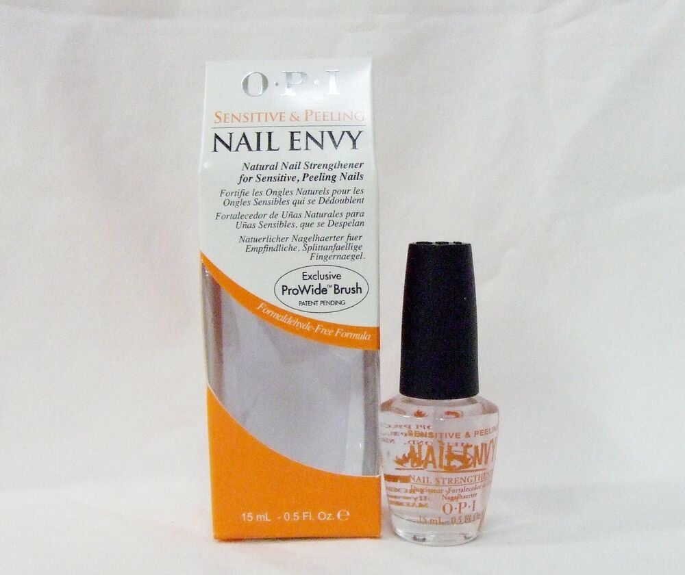 Nail Envy Vs Nail Tek: OPI Nail Treatment Strengthener Hardener ENVY Sensitive