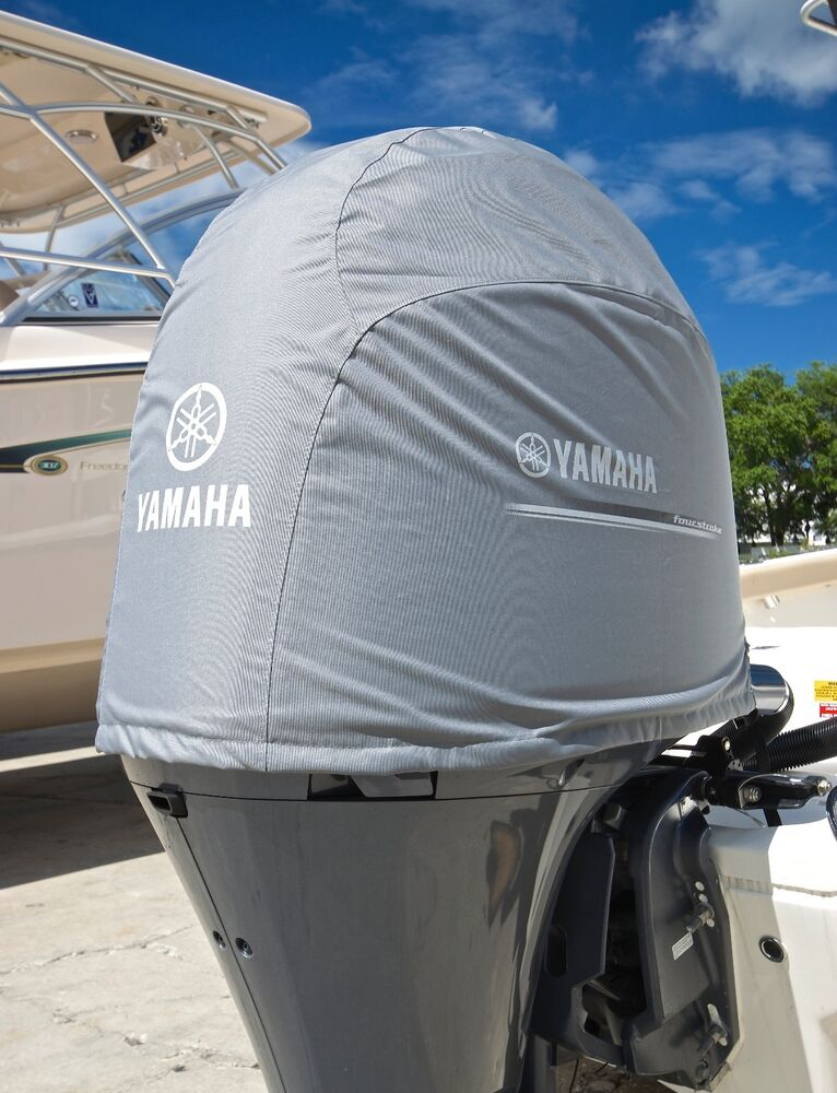 Yamaha deluxe outboard motor cover f200 f175 2 8l i4 mar for Yamaha outboard parts house