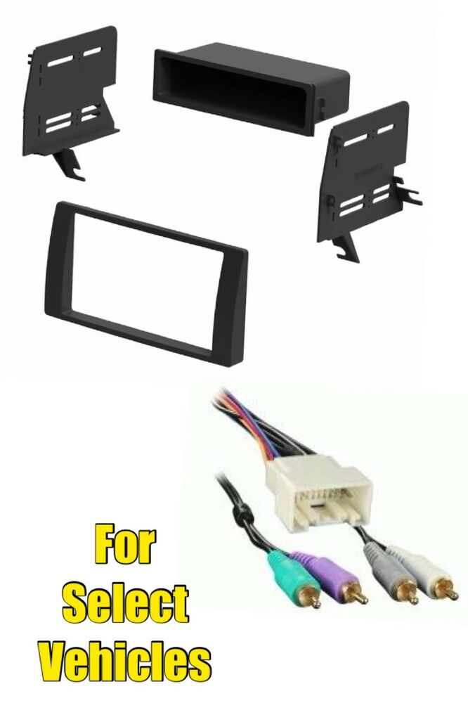 02 06 toyota camry stereo radio install mount dash trim kit jbl amp wire harness ebay. Black Bedroom Furniture Sets. Home Design Ideas