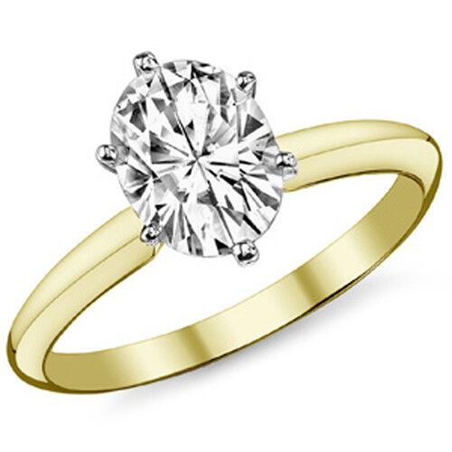 Cz Cushion Cut Solitaire Ring