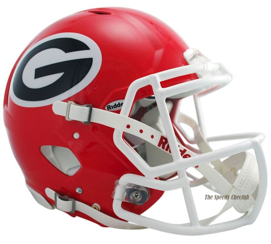 bulldog helmet georgia bulldogs riddell speed authentic ncaa football 7973