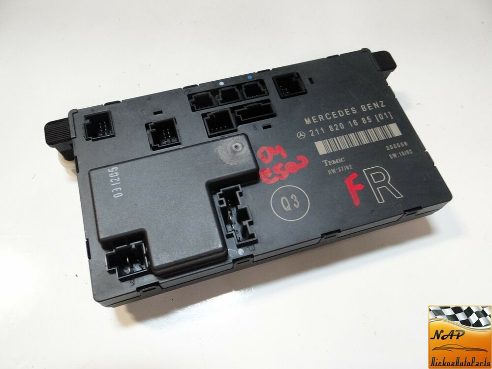 2004 mercedes e500 w211 front right door control module for 01333 door control module