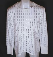BNWT MENS SUPERFINE LONG SLEEVED NAILS T SHIRT XLARGE NEW WHITE