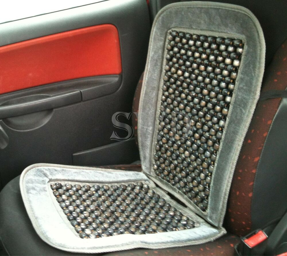 Beaded Car Seat Pad