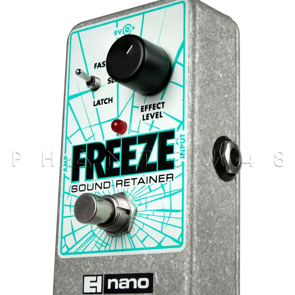 electro harmonix freeze sound retainer sustain guitar effects pedal new 683274011103 ebay. Black Bedroom Furniture Sets. Home Design Ideas