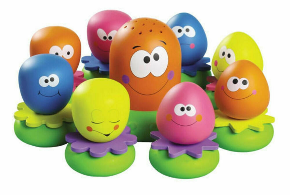 Toddler Bath Toys : Tomy baby kids toddler octopals bath time squirt water