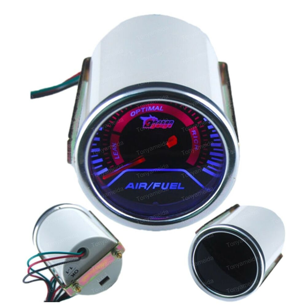 2 52cm Universal Air Fuel Ratio Gauge Car Motor Led Gauge