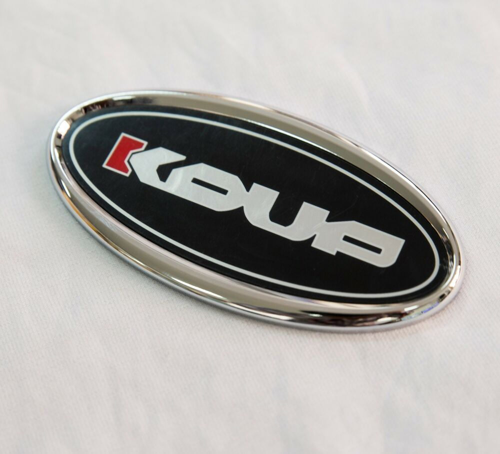 Koup Trunk Dress Up Emblem Badge 1ea Fit Kia Forte Koup K3 2010 2015 Ebay
