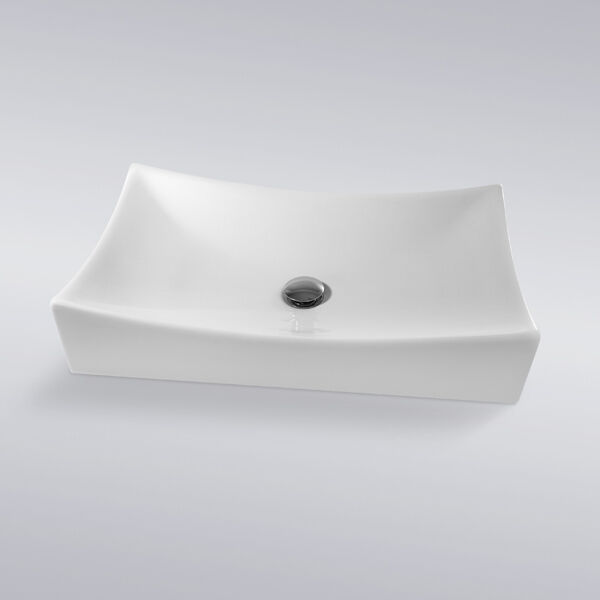 Vessel Vanity Sink Combo : ... Porcelain Ceramic Vessel Vanity Sink Basin & Pop Up Drain Combo eBay