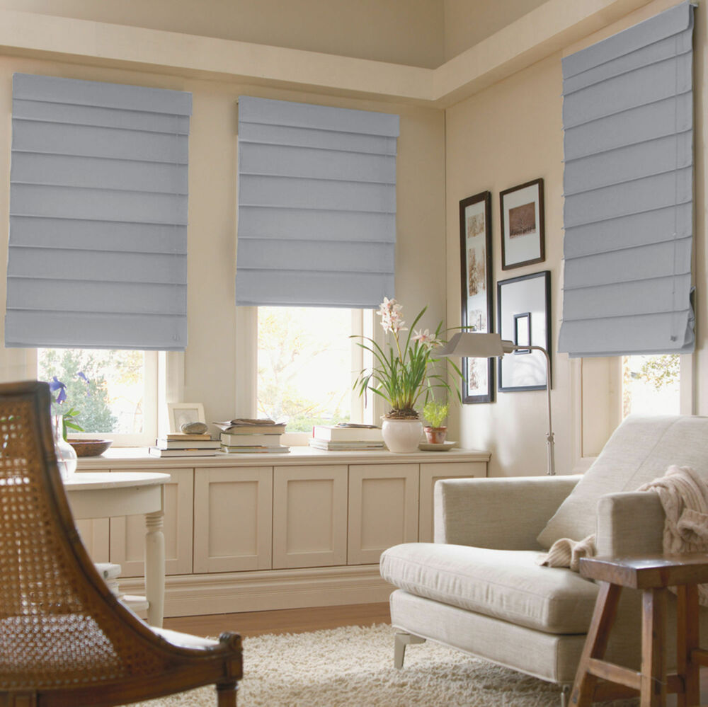 Hanna Fabric Roman Shades 14 Colors Free Shipping 1800