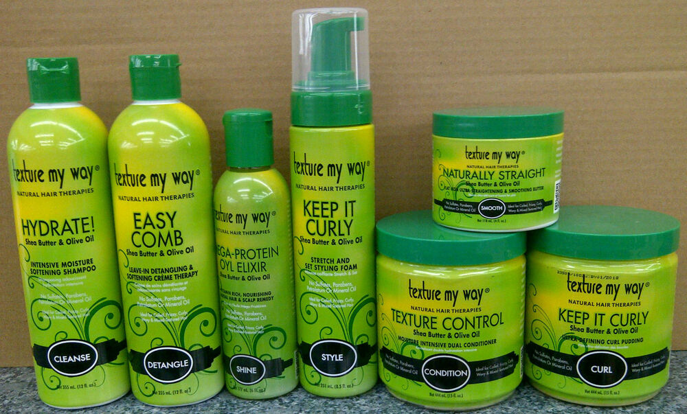 Texture My Way Natural Hair Products For Coiled, Curly, Wavy & Mixed-Texture   eBay