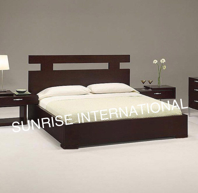 New Wooden Indian King Size Double Bed With Storage Under