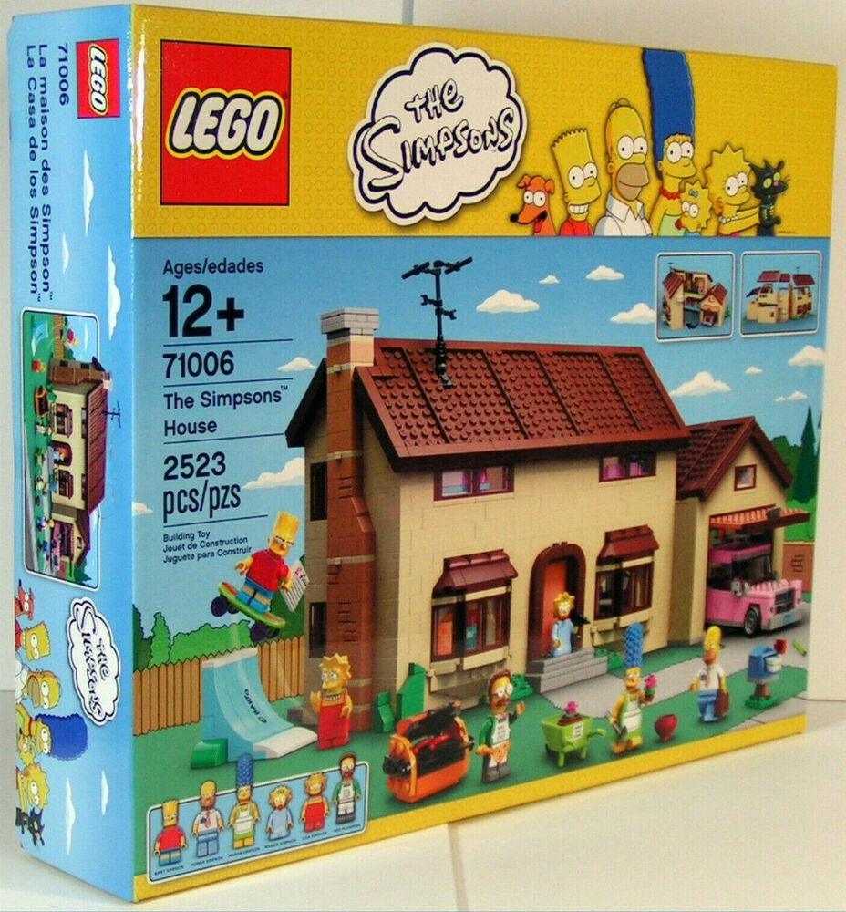 Lego 71006 The Simpson 39 S House Set 2523 Pieces New In Hand