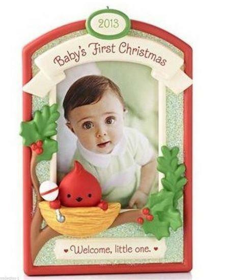 Hallmark 2013 Baby S Boy Girl First Christmas Personalize