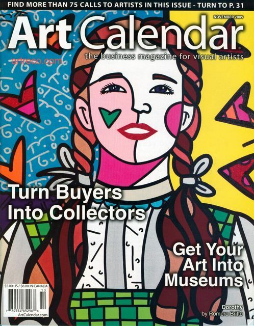 Art Calendar Business Magazine : Romero britto art calendar magazine dorothy wizard of
