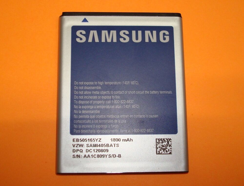 samsung eb505165yz oem cell phone battery for sch i405. Black Bedroom Furniture Sets. Home Design Ideas