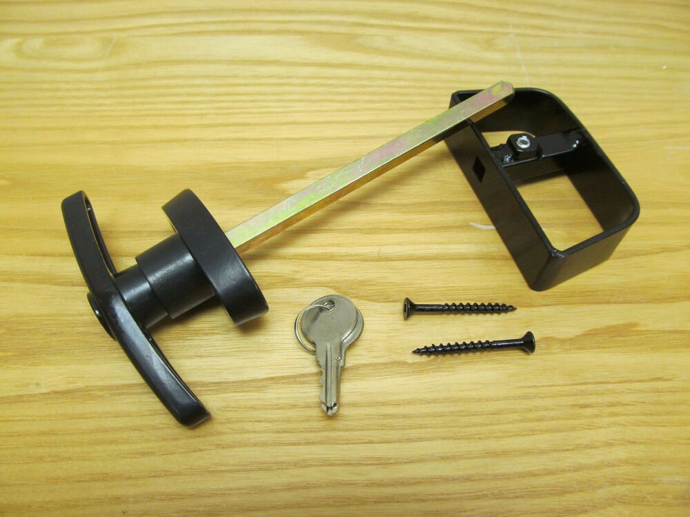 Heavy Duty T Handle Lock 5 1 2 Quot Black Sheds Shed Windows