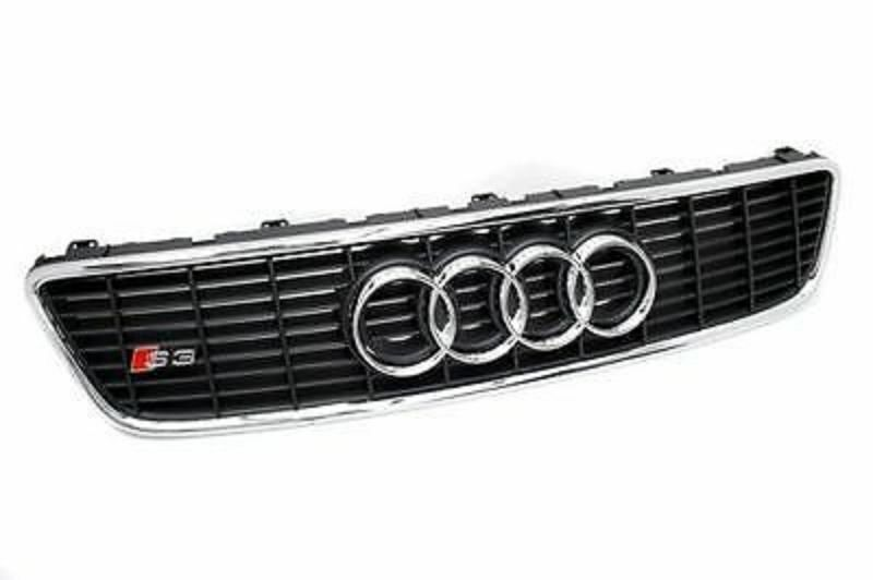 audi a3 s3 8l sport grill grille front bumper grill with s3 badge ebay. Black Bedroom Furniture Sets. Home Design Ideas