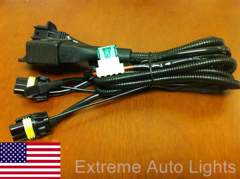 dodge hid relay harness 5 pin relay harness