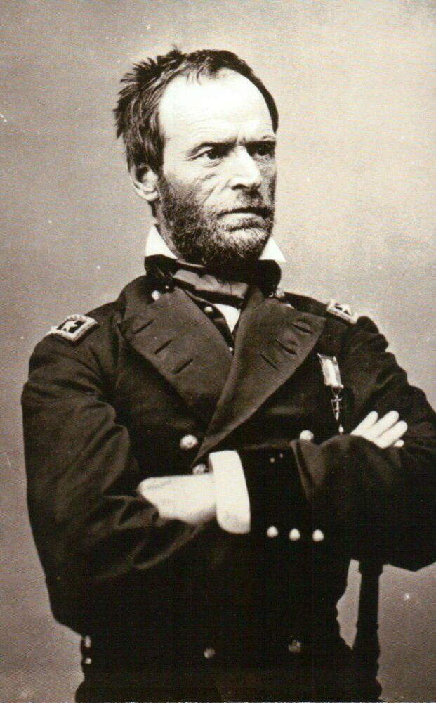 "william tecumseh sherman civil war general Civil war general william tecumseh sherman earned a place in history as ""the  first modern general,"" yet behind his reputation as a fierce warrior was a."