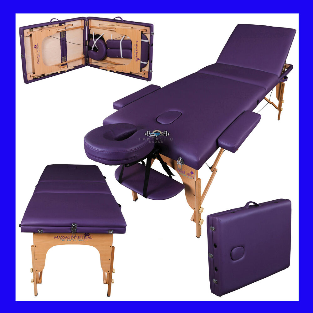 Lightweight portable massage table couch beauty therapy for Table for beauty salon