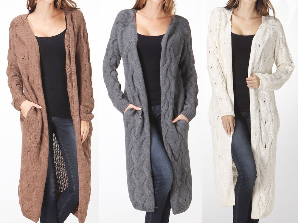 Related to Black Long Draped Front Cardigan