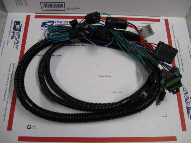 western fisher snow plow 3 port light wiring harness 28464 ... wire harness fisher 96446 #8