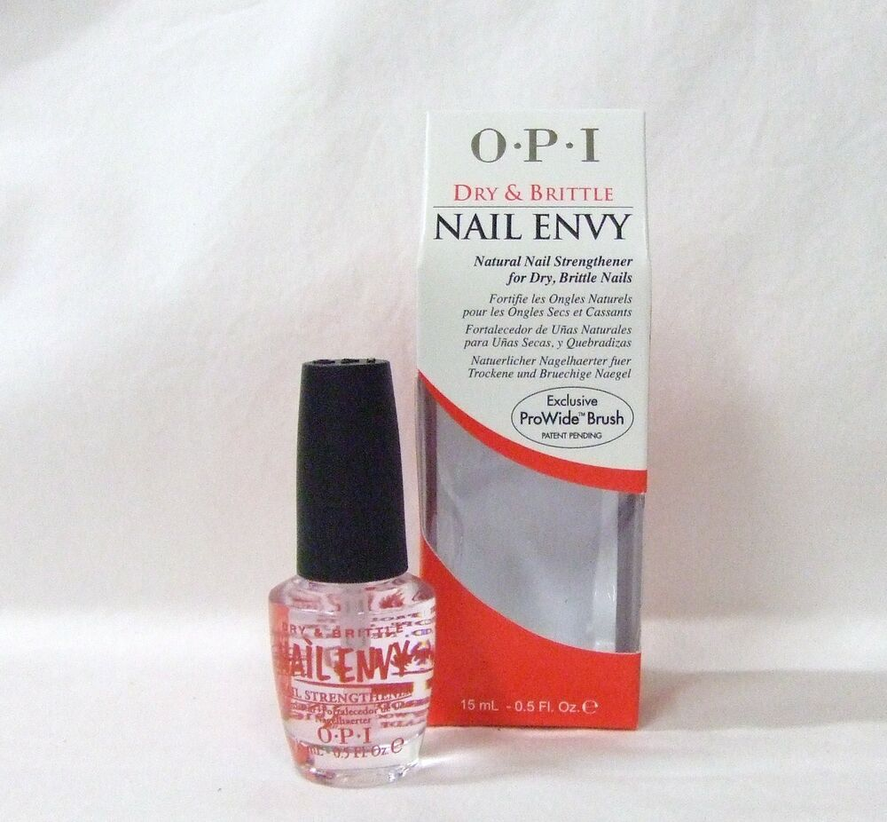 Nail Envy Vs Nail Tek: OPI Nail Treatment Strengthener Hardener ENVY Dry & And