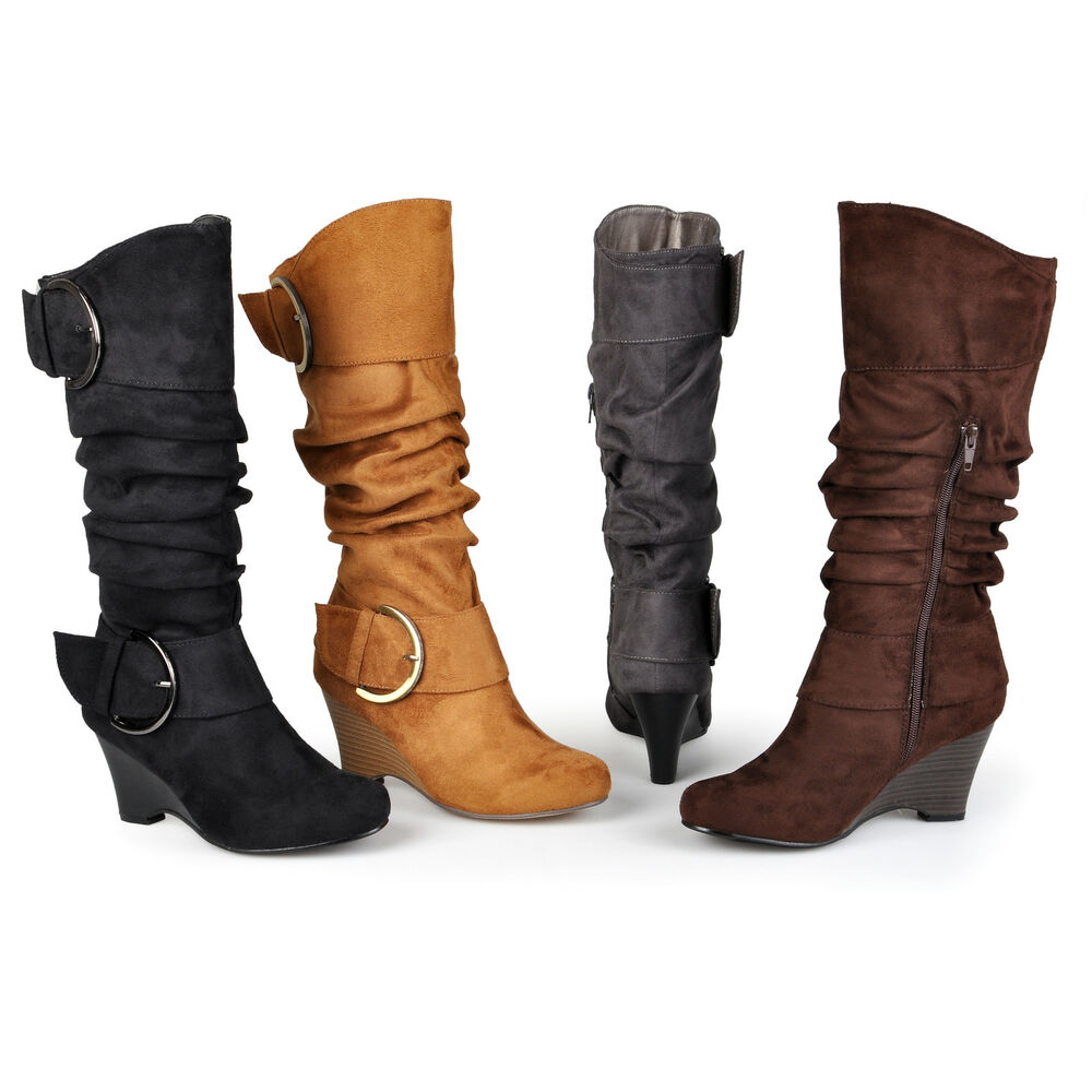 journee collection womens wide calf and wide calf