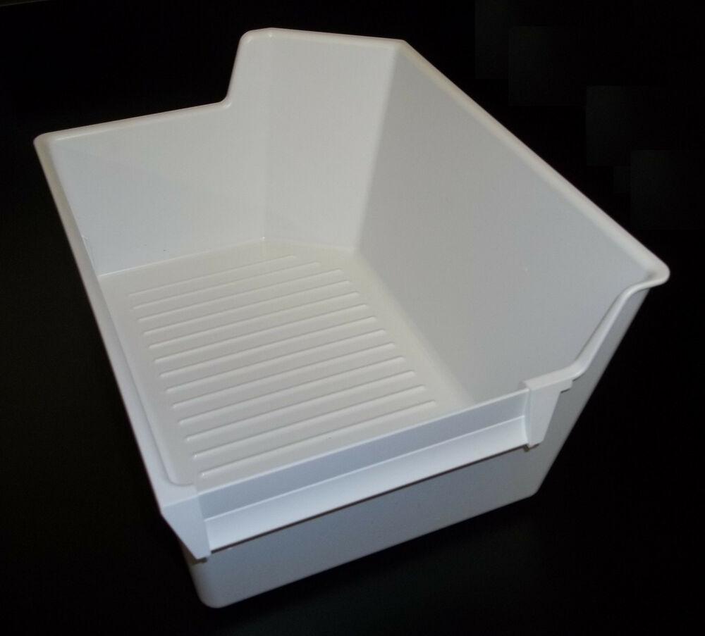 Ice Maker Ice Cube Bucket Bin Tray Holder Storage