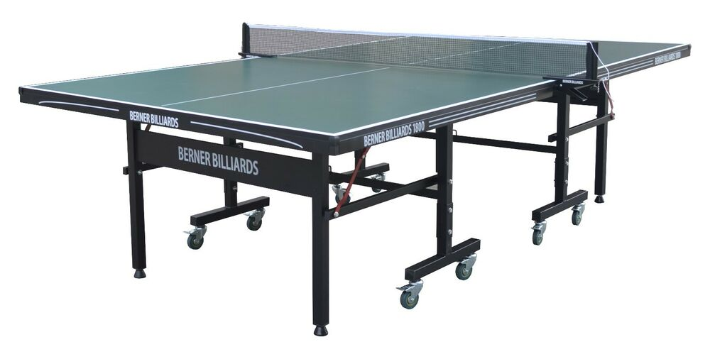 18mm Table Tennis Ping Pong Table In Green By Berner