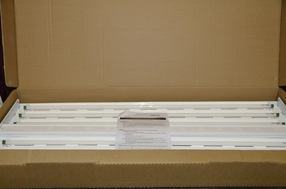 Lithonia Lighting Ibz Series 654l Wd 120 Cs3w Fluorescent Fixture W   Wire Guard