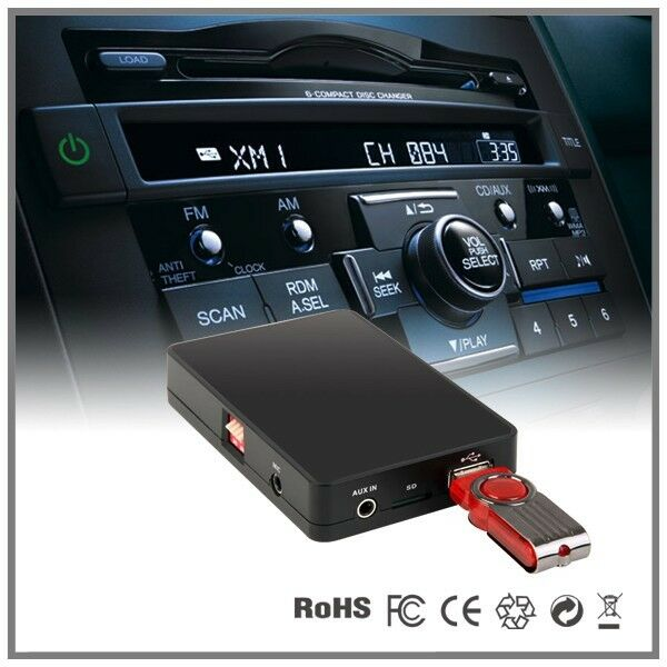 Car USB SD AUX MP3 CD changer adapter-Honda Accord Civic CRV Fit Pilot Ridgeline | eBay